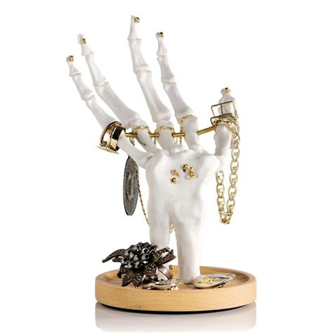 tattoo hand jewellery holder skeleton hand jewellery tidy suck uk jewellery stand