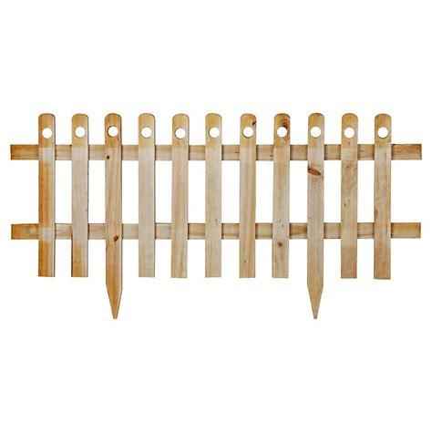 enrejado madera sodimac alonso cerco de madera con estaca natural 100 x 40 cm