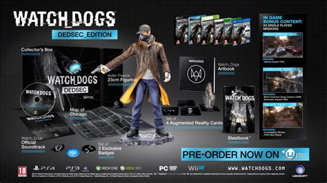Bd Ps4 Watchdog 2 Reg 3 All New Sealed Bnib watch dogs collector s dedsec edition the average