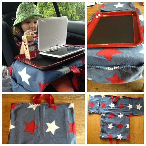 Kindersitz Tisch Auto by Diy Tray Table For Car Seat Baking Tray Painted With