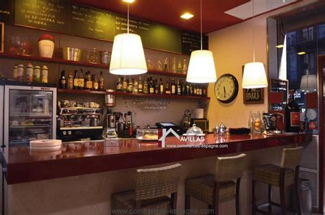acheter bar cuisine barcelone bar restaurant fonds de commerce espagne