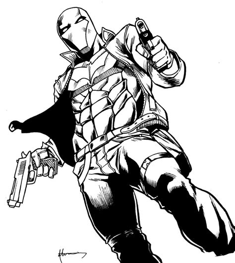 Batman Red Hood Coloring Pages | batman red hood coloring pages