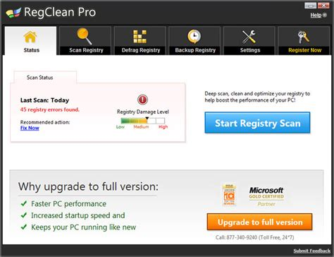 best regedit cleaner regclean pro