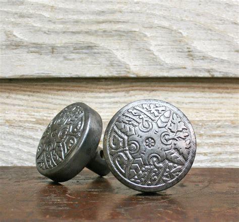 Ornate Door Knobs by Antique Door Knob Set Ornate Steel Door Knobs