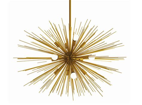 urchin chandelier gold sea urchin chandelier look 4 less and steals and deals