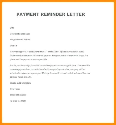 reminder letter for outstanding payment invoice dinara me