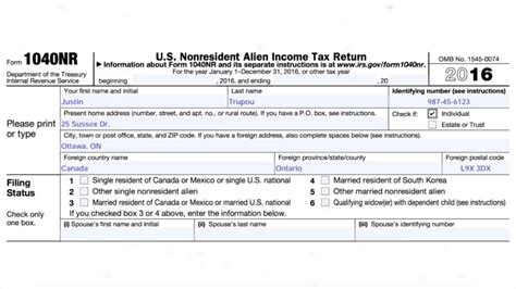 Ontario Property Records Part 1 How To Prepare A 1040 Nr Tax Return For U S