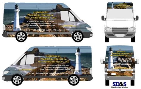 Lighthouse Plumbing by Sd S Vehicle Wraps