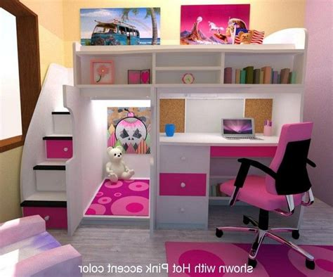 girls loft bed with desk bunk beds with desk for girls google search stuff to