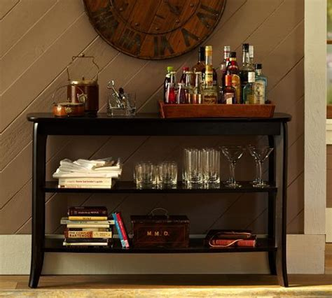 bar console chloe console table pottery barn home inspiration