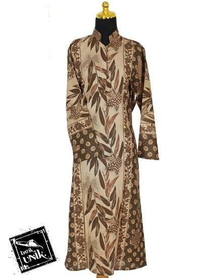 Daster Gamis Muslim Longdress M 01 baju batik longdress motif daun bambu daster longdress