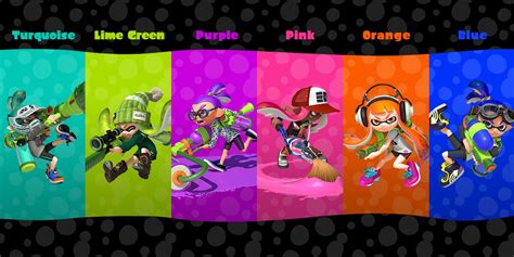 Paint Color Palette Generator by What S Your Favorite Ink Color Splatoon