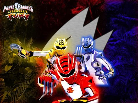 Jungle Fury Power Rangger Power Rangers Jungle Fury