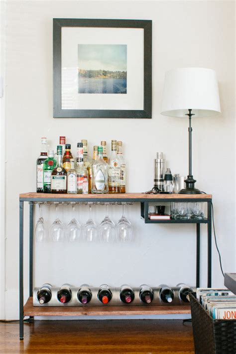 project ikea hack bar cart ish life style 365