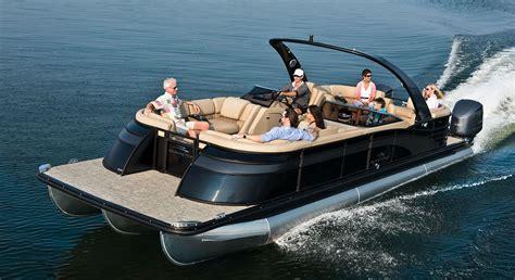 luxury pontoon fishing boats new 2016 luxury pontoon boats best in class styling