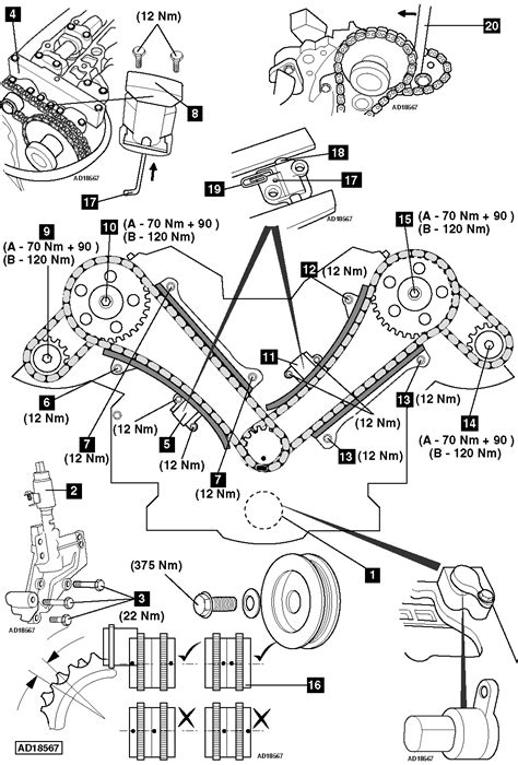 How to replace timing chains on Jaguar S-Type 4.2 R V8 32V