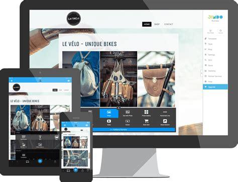 website gratis cr 233 er un site web facilement 100 compatible mobile jimdo
