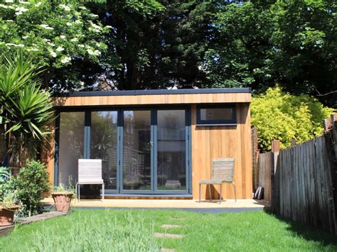 Garden Studio With Bathroom Built In West London Youtube Backyard Studio With Bathroom