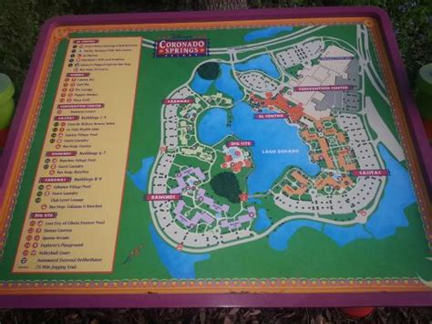 coronado springs resort map photo0 jpg picture of disney s coronado springs resort orlando tripadvisor
