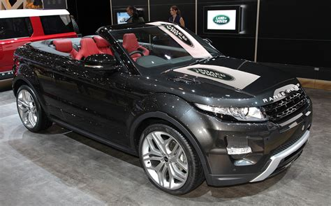 evoque land rover convertible land rover range rover evoque convertible 2012 geneva