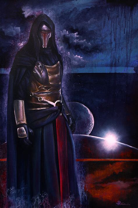 Revan Wars The Republic revan painting by ken hancock