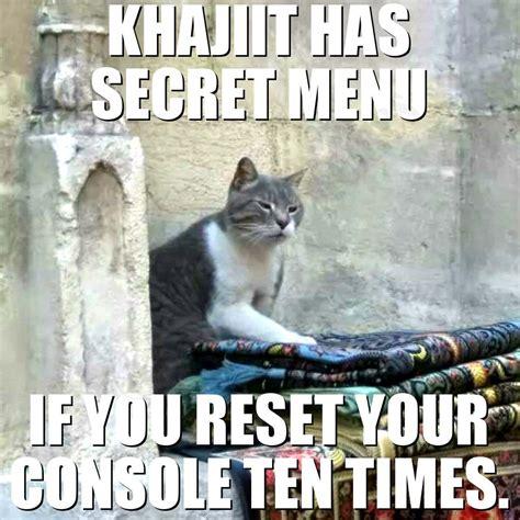 Khajiit Meme - redactedcat on twitter quot khajiit has wares if you have