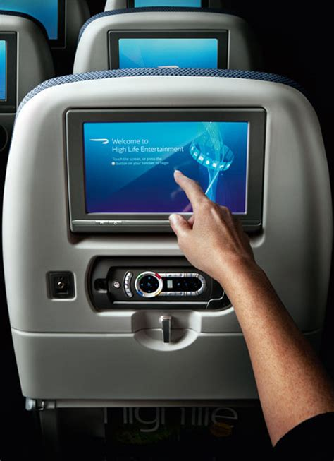 does air canada tvs in the back of seats world traveller economy class travel classes