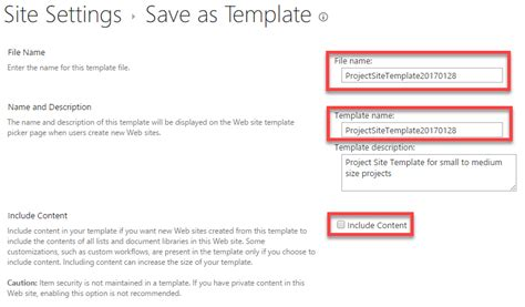 best practices for sharepoint site templates sharepoint