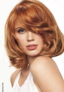 coupe de cheveux femme ovale cheveux mi roux
