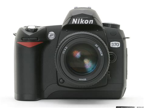 canon d70 nikon d70 review digital photography review