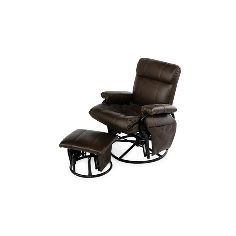 metal glider with ottoman essential home dunhill swivel glider with ottoman