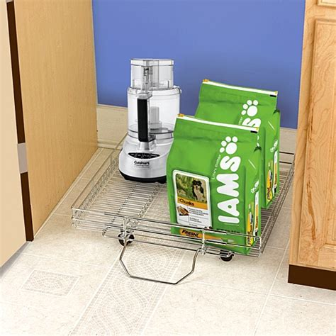 Pantry Floor Organizer Pantry Floor Roll Out Organizer For The Kitchen