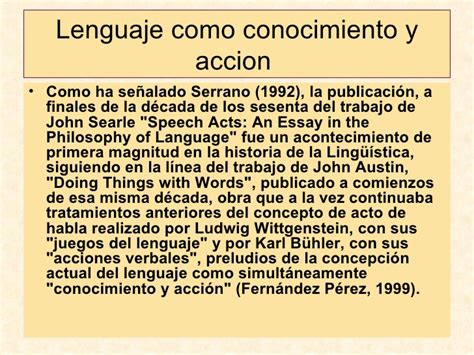 Searle 1969 Speech Acts An Essay In The Philosophy Of Language by Tema 5b Socioling 252 237 Stica Y An 225 Lisis Discurso Parte 2