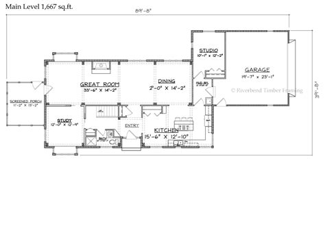 cotswold timber frame floor plan