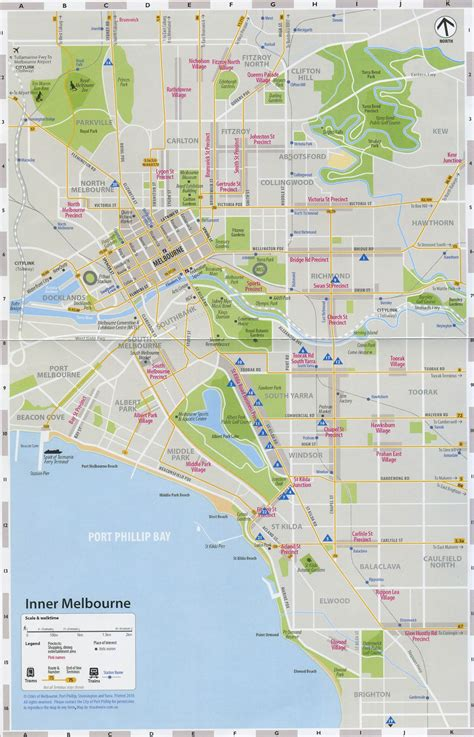 printable maps melbourne maps update 21051488 melbourne map for tourist
