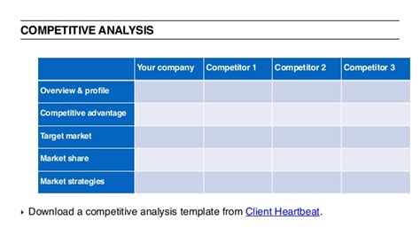 Ux Bootc Fall 2015 General Assembly Competitive Analysis Template Ux