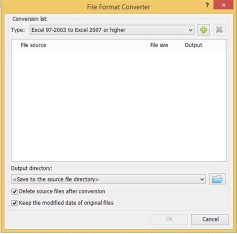 xls format converter quickly convert multiple xlsx files to xls or pdf files in