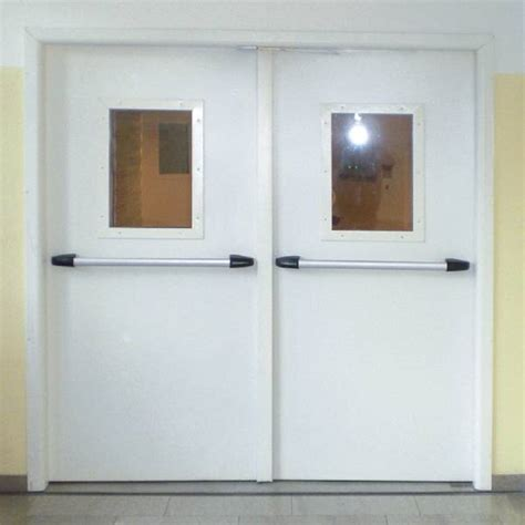 montaggio porte rei porta endoor enplus 2 ante porte tagliafuoco metalliche