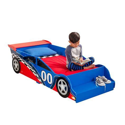 race car bed set kidkraft toddler racecar bedding set 4 piece