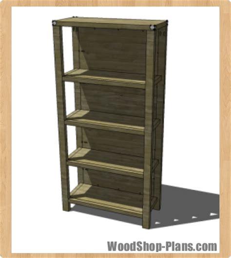 bookcase woodworking plans woodshop plans