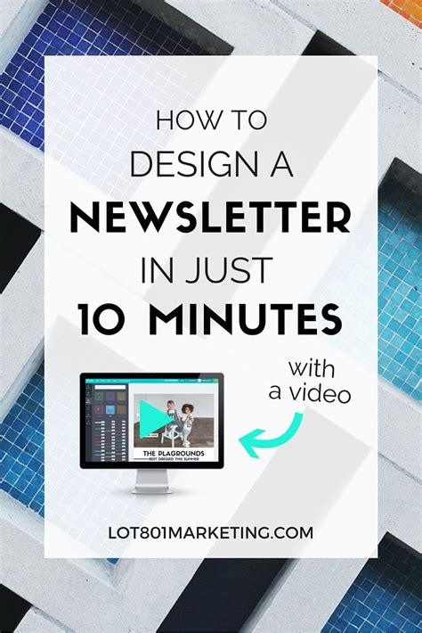 canva newsletter mailchimp how to design an email newsletter in 10 minutes with canva