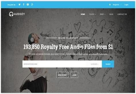 free wordpress themes music store ecommerce music store wordpress theme