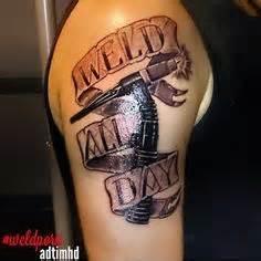 like father like son tattoo designs tattoos like like color welding