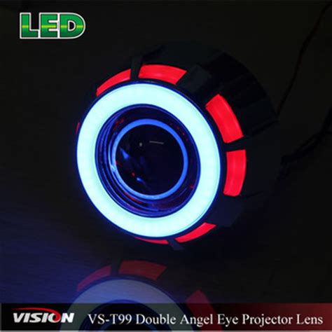 Lu Projector Eagle Eye h1 mini visteon projector lens with led eagle eye