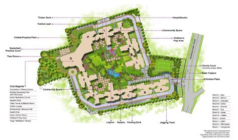 Luxurious Apartments Site Plans Brigade Cosmopolis Site | luxurious apartments site plans brigade cosmopolis site