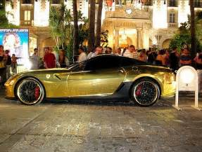 599 Gtb Gold Golden 599 Gtb From Hamann 18 Pics 1