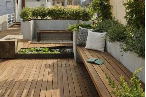 terrace bench design of terrace garden with wooden benches good design