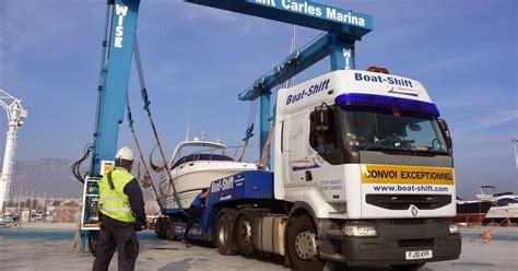 boat transport to spain boatyard spain boat transport by road in spain