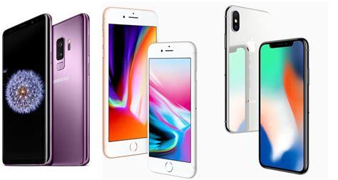 samsung galaxy s9 plus vs iphone 8 plus und iphone x der vergleich