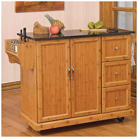 bamboo kitchen island bamboo kitchen cart big lots